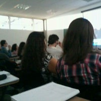 Photo taken at CEU Pimentas by Felipe T. on 10/18/2011