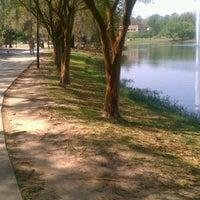 Photo taken at Lake Ella by Derrika H. on 3/18/2012