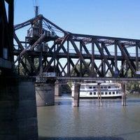 Photo taken at I Street Bridge by Sean O. on 9/14/2011