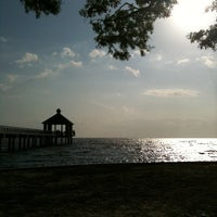 Photo taken at Fontainebleau State Park by Sarah A. on 4/3/2011
