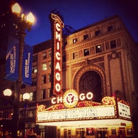 Photo taken at The Chicago Theatre by Brandon M. on 6/2/2012