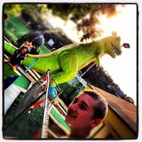 Photo taken at Peter Pan Mini Golf by Ian K. on 8/22/2012