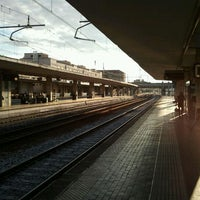Photo taken at Padova railway station (QPA) by Brunetto Z. on 6/4/2012