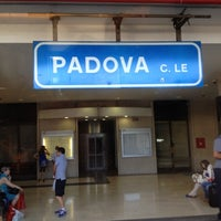 Photo taken at Padua Railway Station (QPA) by Michela Z. on 6/26/2012