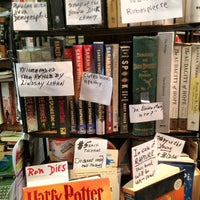 Photo taken at Capitol Hill Books by Wesley C. on 2/11/2012