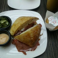 Photo taken at Chloé's French Café by James G. on 2/21/2012