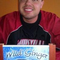 Photo taken at Wild Ginger by Reggie R. on 1/14/2012