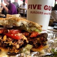 Photo taken at Five Guys by Chris S. on 8/26/2012