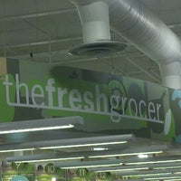 Photo taken at The Fresh Grocer by Aaron N. on 7/12/2012