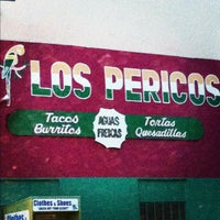 Photo taken at Los Pericos Taqueria by Kyiakhalid R. on 5/27/2012
