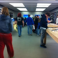 Photo taken at Apple Store, Lehigh Valley by Julie-Anne S. on 3/2/2012