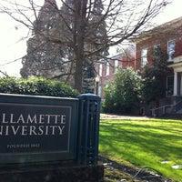 Photo taken at Willamette University by Karyn L. on 4/8/2012