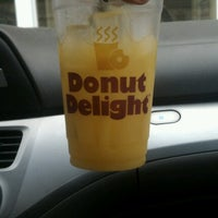 Photo taken at Donut Delight by Robyn B. on 6/9/2012