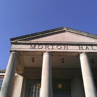 Photo taken at Morton Hall by Cassie P. on 4/12/2012