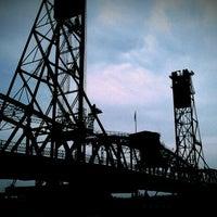 Photo taken at Hawthorne Bridge by Laura B. on 8/18/2012
