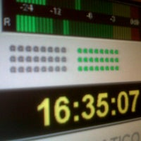 Photo taken at Discoradio by Fabio M. on 9/3/2012