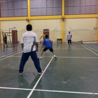 Photo taken at Arena Badminton, ST JOHN by Alam ramadan S. on 7/18/2012