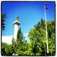 Photo taken at Fort Greene Park by Elicia B. on 7/24/2012