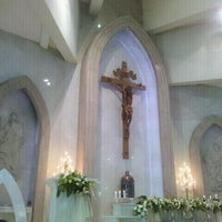 Photo taken at Gereja Santo Thomas Rasul by Rudy S. on 6/3/2012