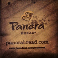 Photo taken at Saint Louis Bread Co. by Justin W. on 4/9/2012