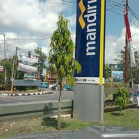 Photo taken at Bank Mandiri Kendari by Mohamad L. on 8/23/2011
