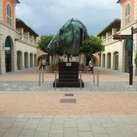 Photo taken at La Reggia Designer Outlet by Giovanni P. on 10/14/2011
