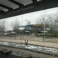Photo taken at Université Lumière Lyon 2 - Campus Porte des Alpes by lou a. on 2/1/2012