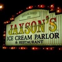 Photo taken at Jaxson's Ice Cream Parlour, Restaurant & Country Store by Kerri N. on 10/2/2011