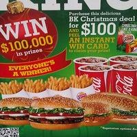 Photo taken at Burger King by Allan W. on 11/20/2011