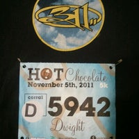 Photo taken at 2011 Hot Chocolate 15k/5k Race by Dwight P. on 11/5/2011