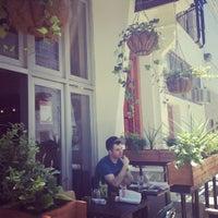 Photo taken at Saro Bistro by Roxy W. on 6/23/2012