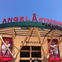 Photo taken at Angel Stadium of Anaheim by Mary Ann R. on 4/7/2012