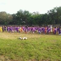 Photo taken at Lapangan Bola Merpati by Yuli A. on 5/6/2012