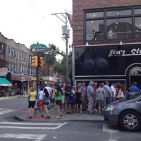 Photo taken at Jim's Steaks by Danielle M. on 7/22/2012