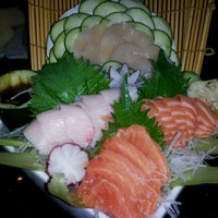 Photo taken at The Fish Restaurant & Sushi Bar by Thai on 4/1/2012