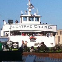 Photo taken at Alcatraz Cruises by Ryan A. on 4/3/2011