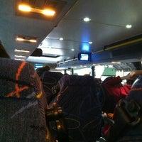 Photo taken at Megabus Bus Stop by Jamie N. on 10/30/2011