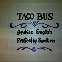 Photo taken at Taco Bus by John H. on 11/26/2011