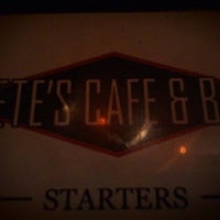 Photo taken at Pete's Cafe & Bar by Edward H. on 10/28/2011