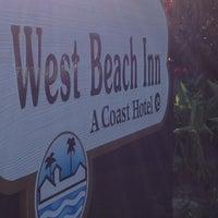 Photo taken at West Beach Inn by Adai L. on 6/23/2012