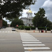 Photo taken at New Hampshire State House by Shawn M. on 7/29/2012