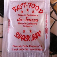 Photo taken at Fast Food da Scazza by Livia . on 3/4/2012