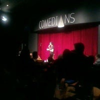 Photo taken at Comedians by Andrea F. on 10/1/2011