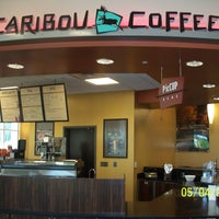 Photo taken at Caribou Coffee by Tiger Dining on 5/4/2012