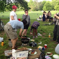 Photo taken at Prospect Park Picnic House by Edgar C. on 5/12/2012