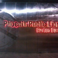 Photo taken at Phoenix Public Library - Burton Barr Central Library by C.R.E.A.M G. on 5/13/2012