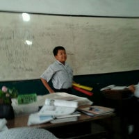 Photo taken at SMP Negeri 7 Medan by Dewi A. on 10/21/2011