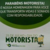 Photo taken at Viação Pássaro Verde by Diego Lee on 7/25/2012