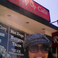 Photo taken at Curry Up Cafe by StalkMika T. on 8/1/2012