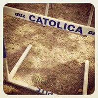 Photo taken at Pontificia Universidad Católica De Puerto Rico by Julio B. on 1/31/2012